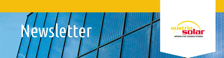 Titelbild Austria Solar Newsletter